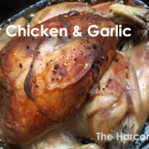 Roast Chicken and Garlic