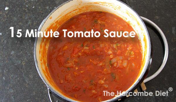 15 Minute Tomato Sauce