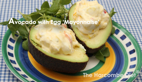 Avocado-Egg-Mayonnaise