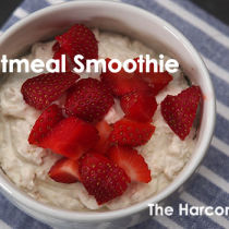 Oatmeal-smoothie